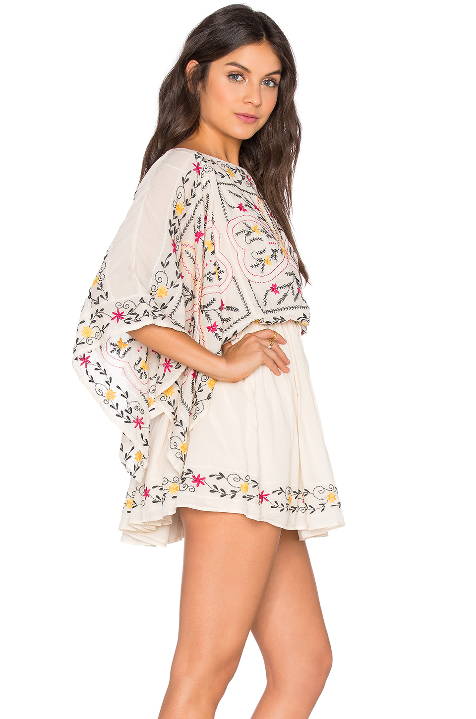 79843bac538 Lyst - Free People Frida Embroidered Dress