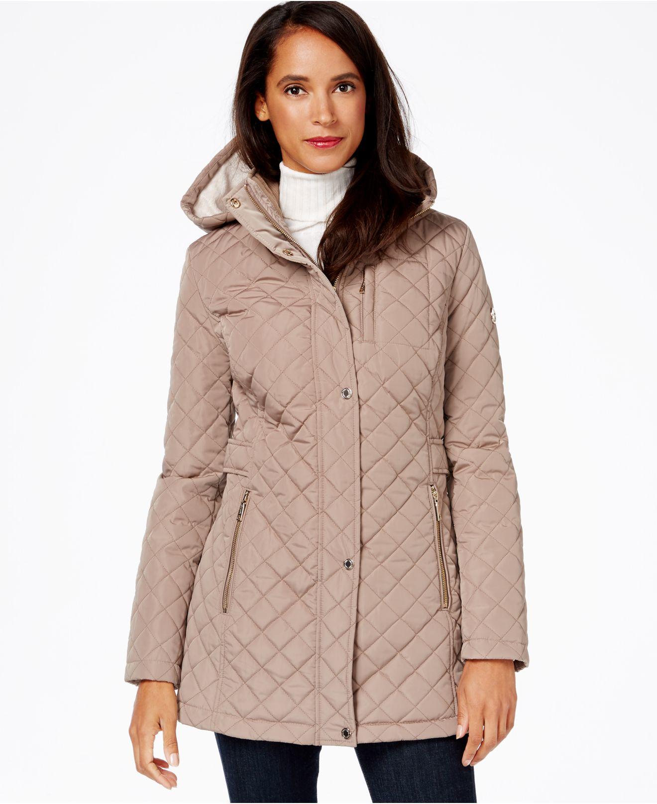 d4ec25ec039d Calvin Klein Hooded Quilted Puffer Coat - Best Quilt Grafimage.co