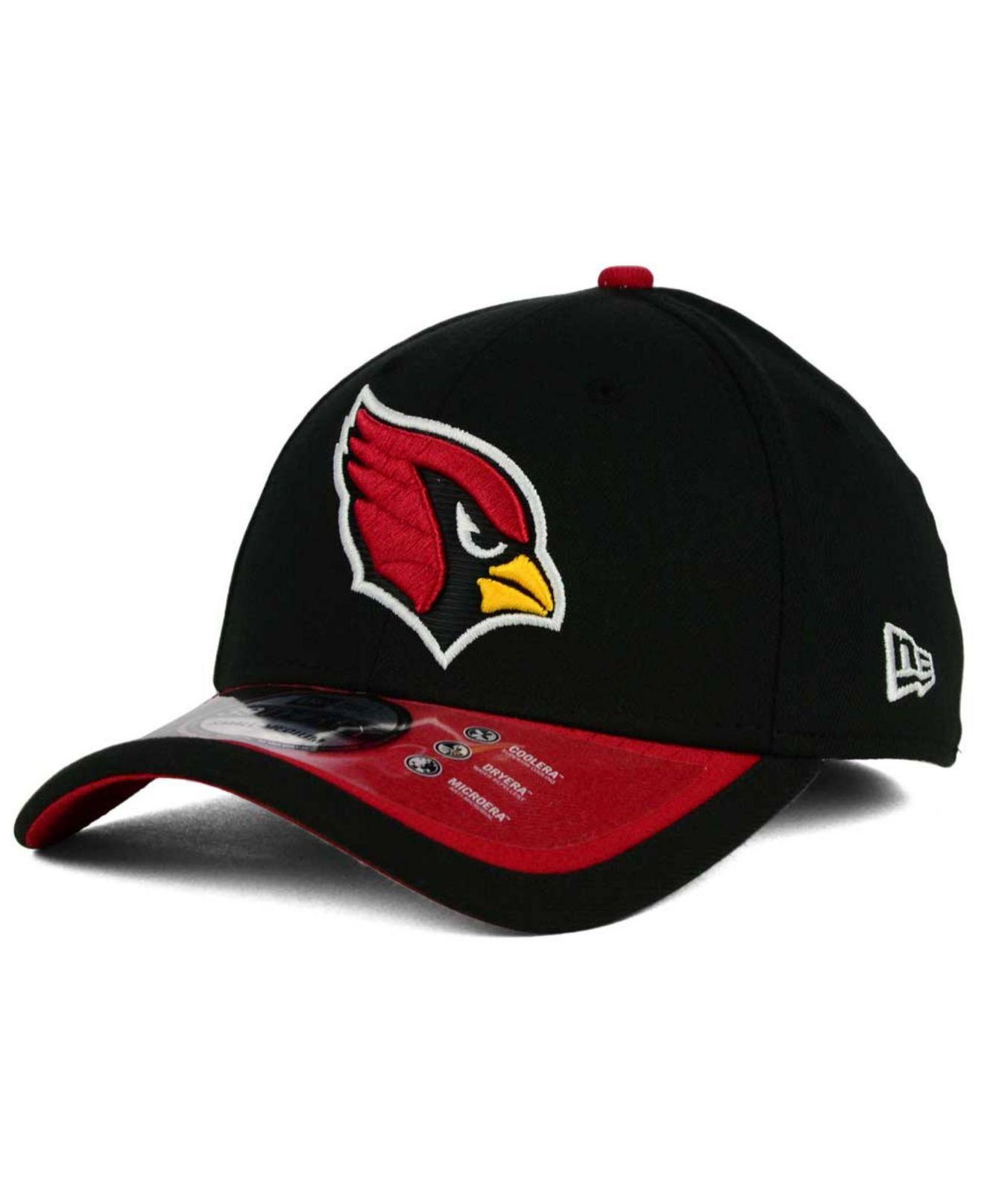 lyst ktz arizona cardinals on field reverse 39thirty cap. Black Bedroom Furniture Sets. Home Design Ideas