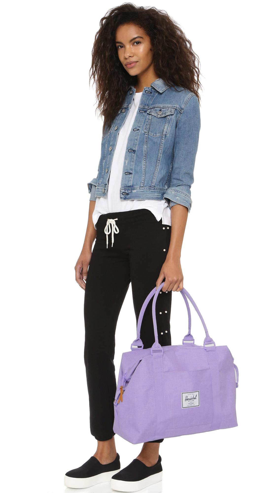 715c9013a2 Lyst - Herschel Supply Co. Strand Duffel Bag - Lilac in Purple