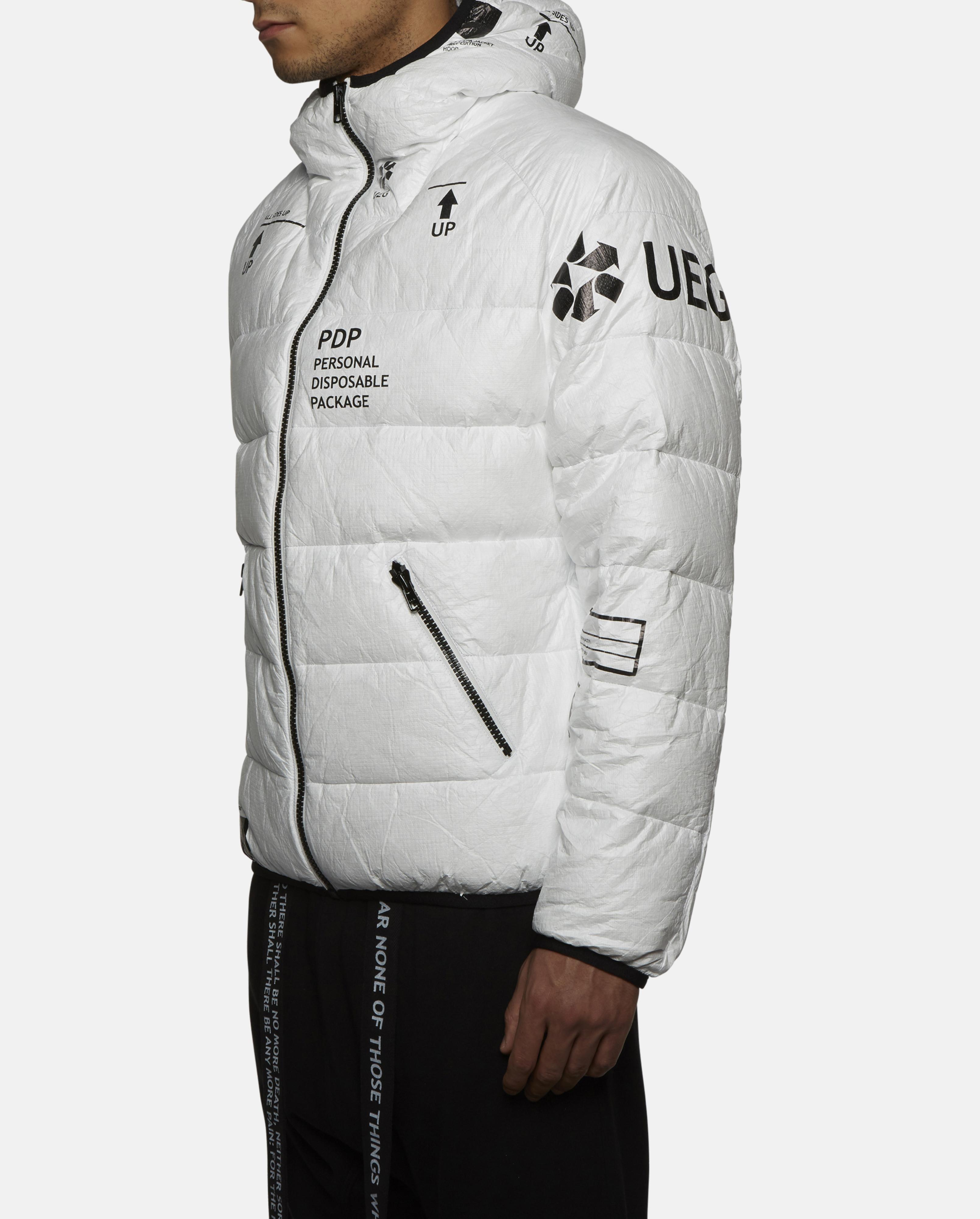 Lyst Ueg Tyvek Down Jacket In White For Men