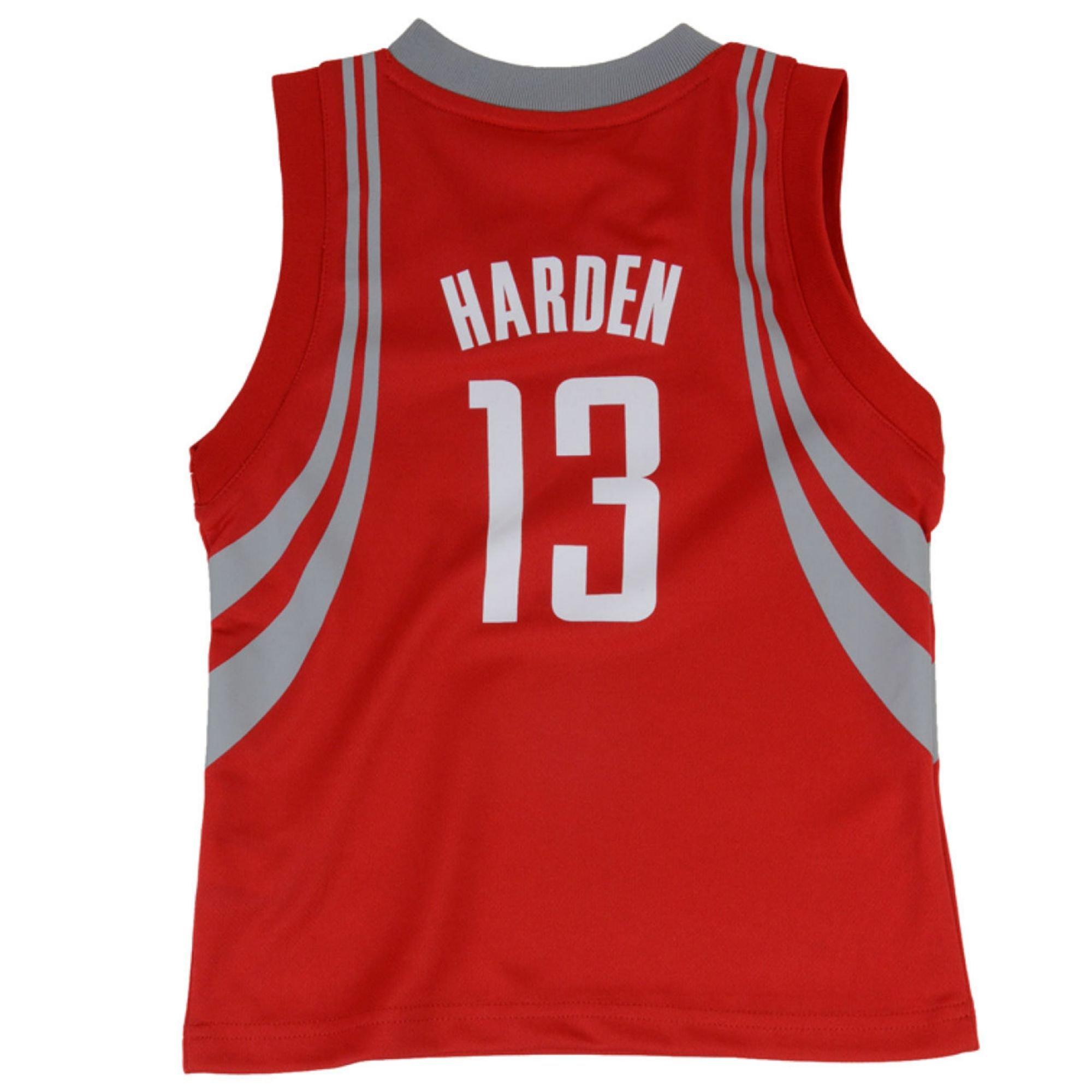 Adidas Kids James Harden Houston Rockets Replica Jersey In