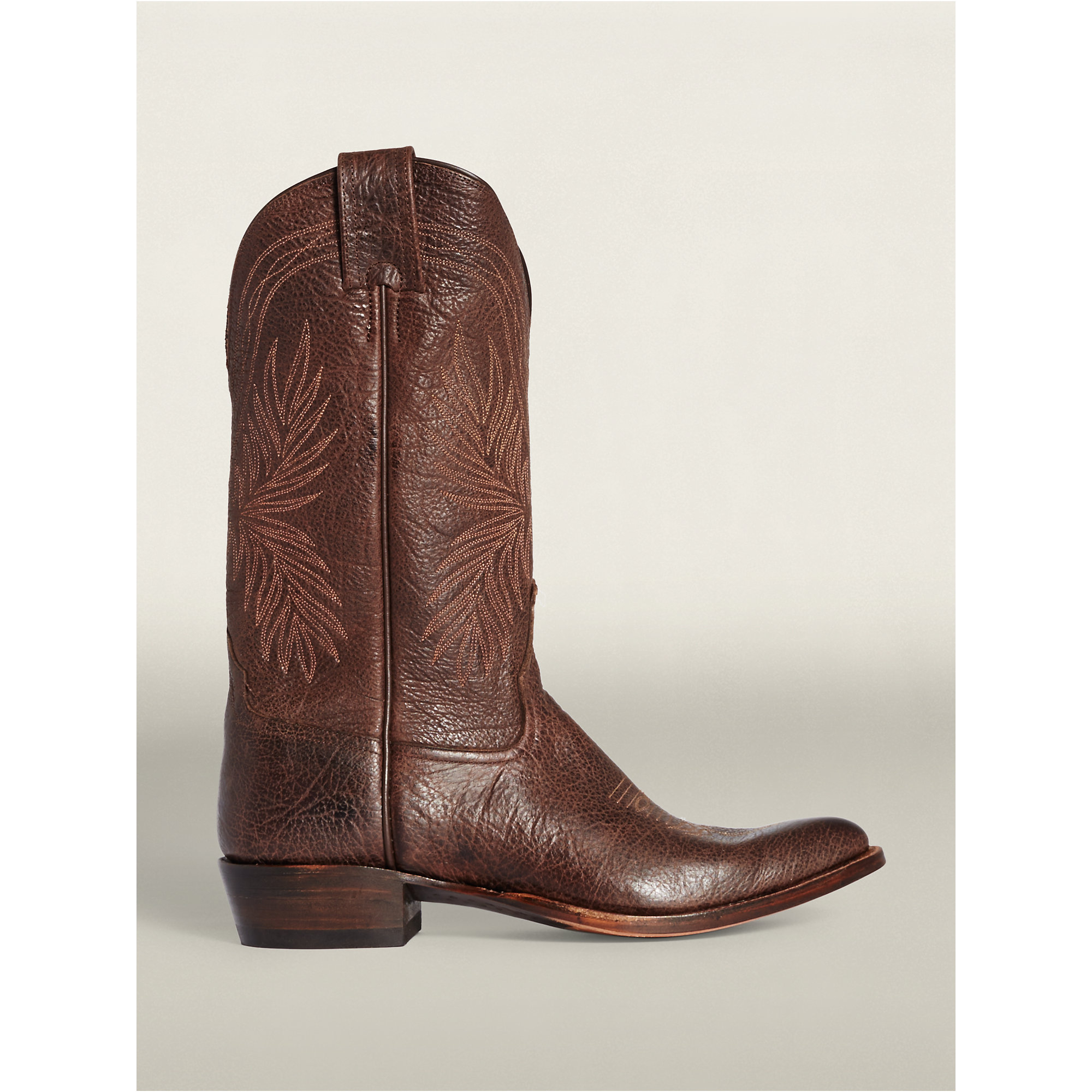 Rrl Plainview Cowboy Boot in Brown for Men   Lyst