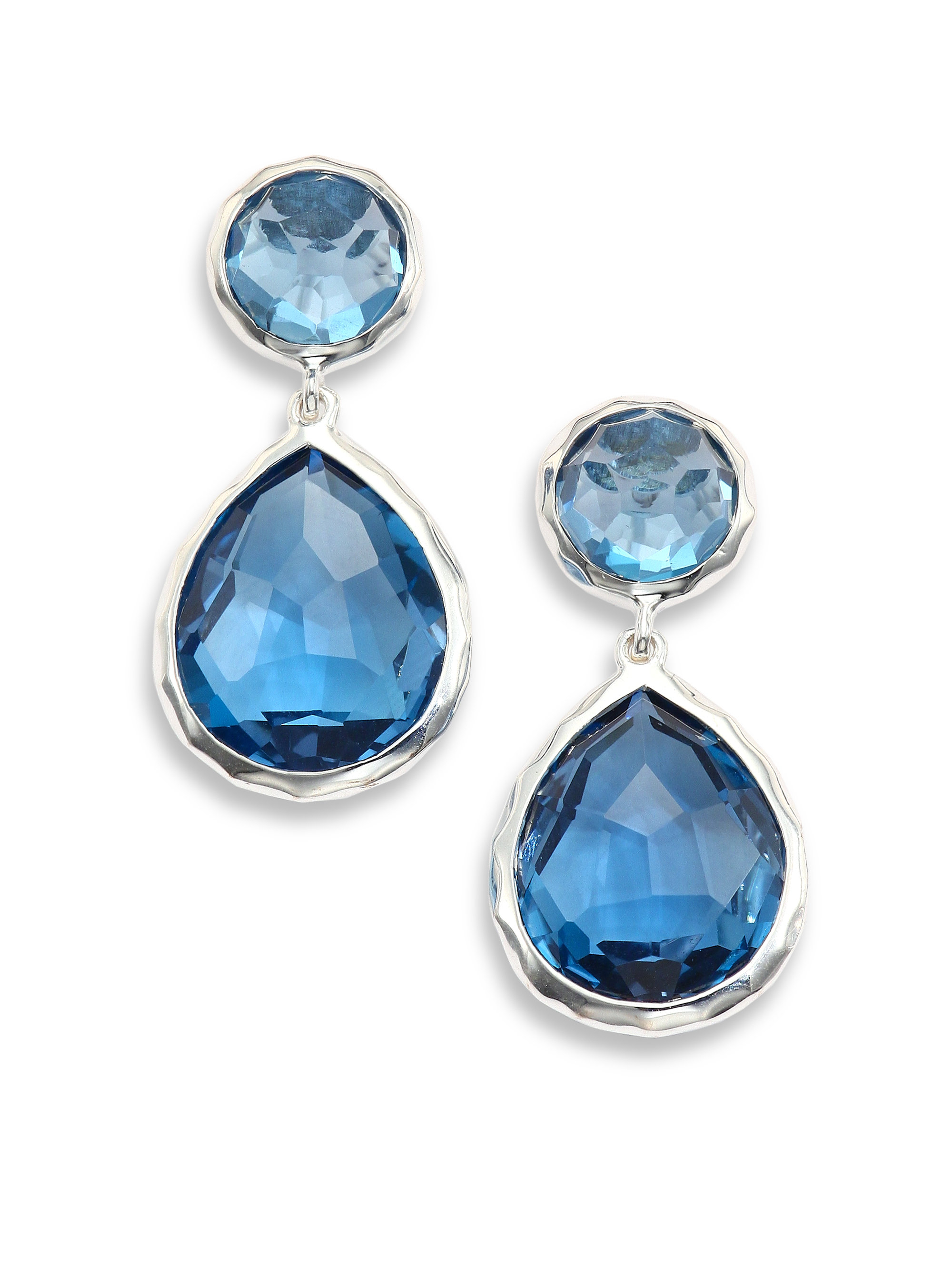 Ippolita Rock Candy London Blue Topaz & Sterling Silver Snowman