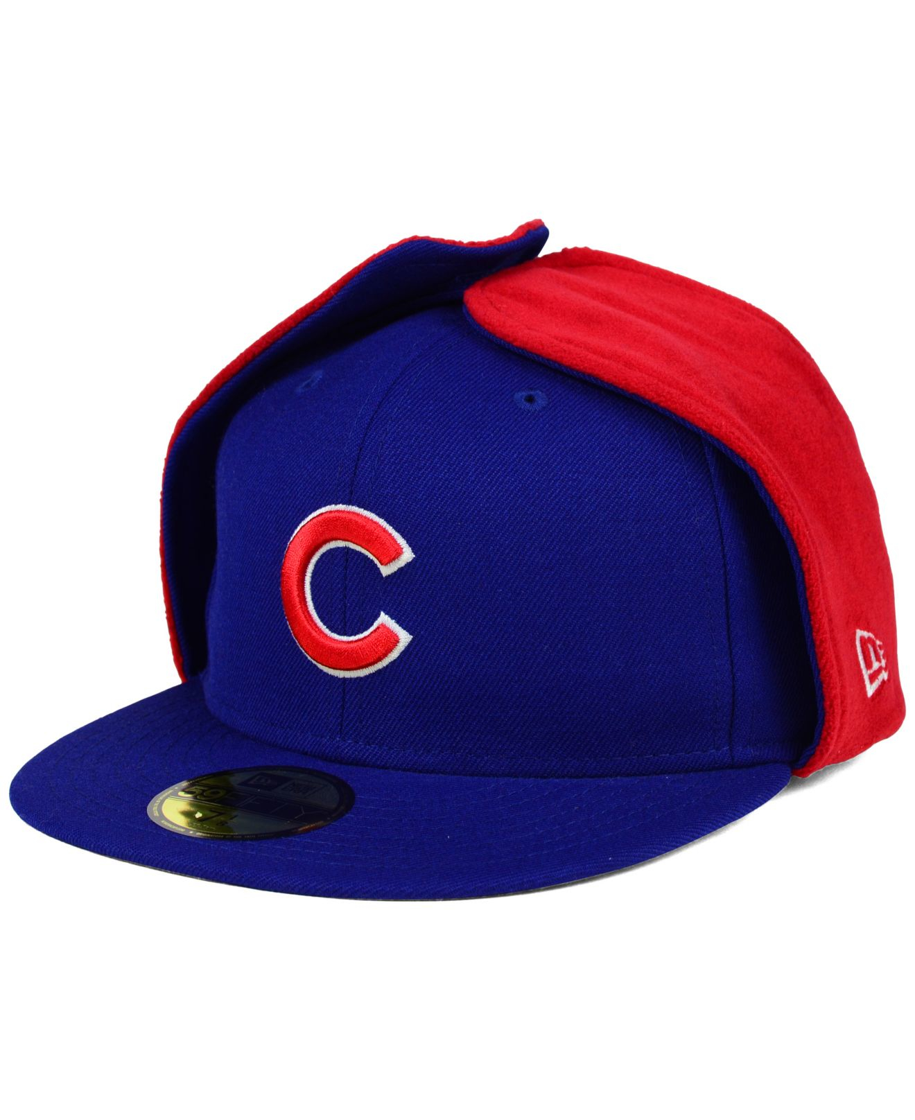 2759b3ef26a Lyst - KTZ Chicago Cubs Dog Ear 59fifty Cap in Red for Men