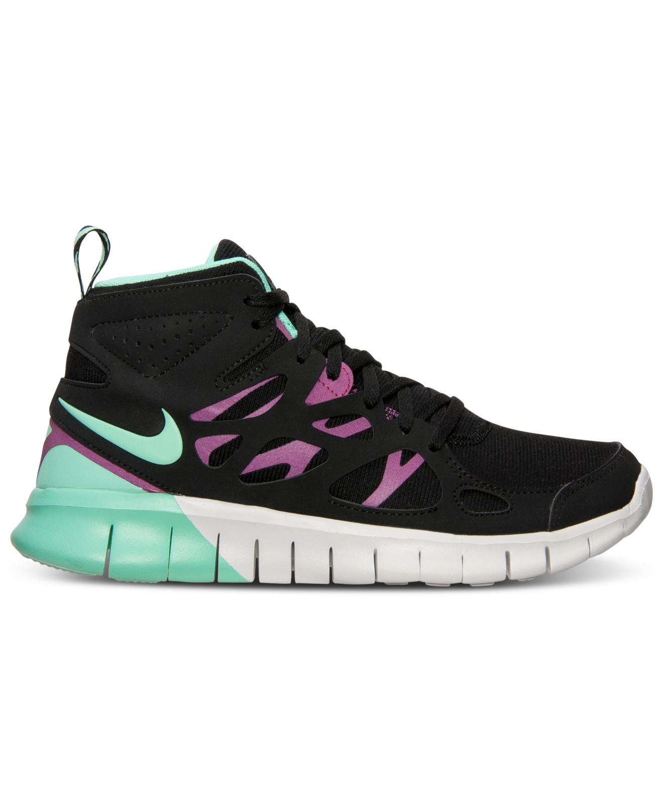 Lyst - Nike Womens Free Run 2 Mid Sneakerboot From Finish -4994