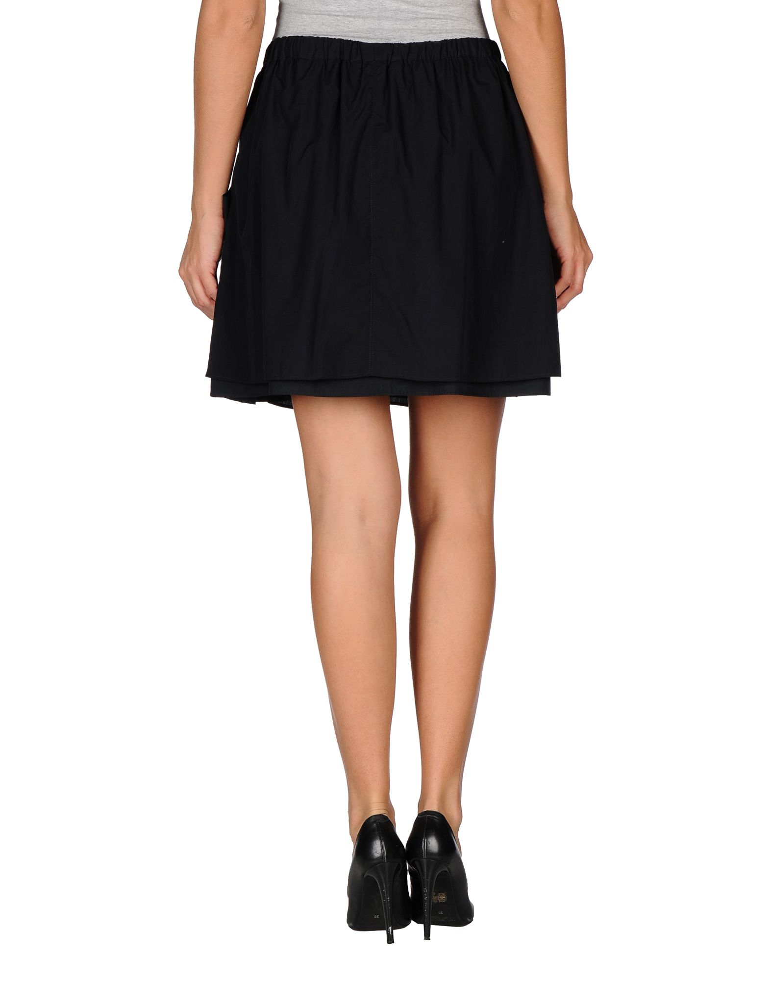 Lastest Marc Jacobs Womens Black Pleated Wool Skirt  Dofabshoes