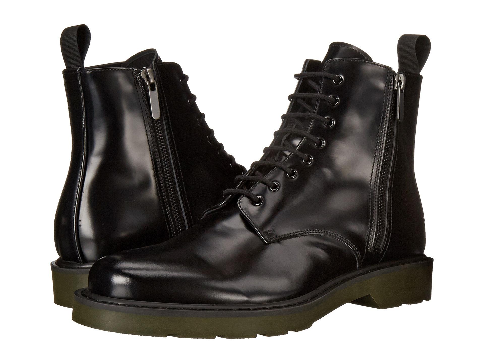 Alexander mcqueen Side Zip Boot in Black for Men | Lyst