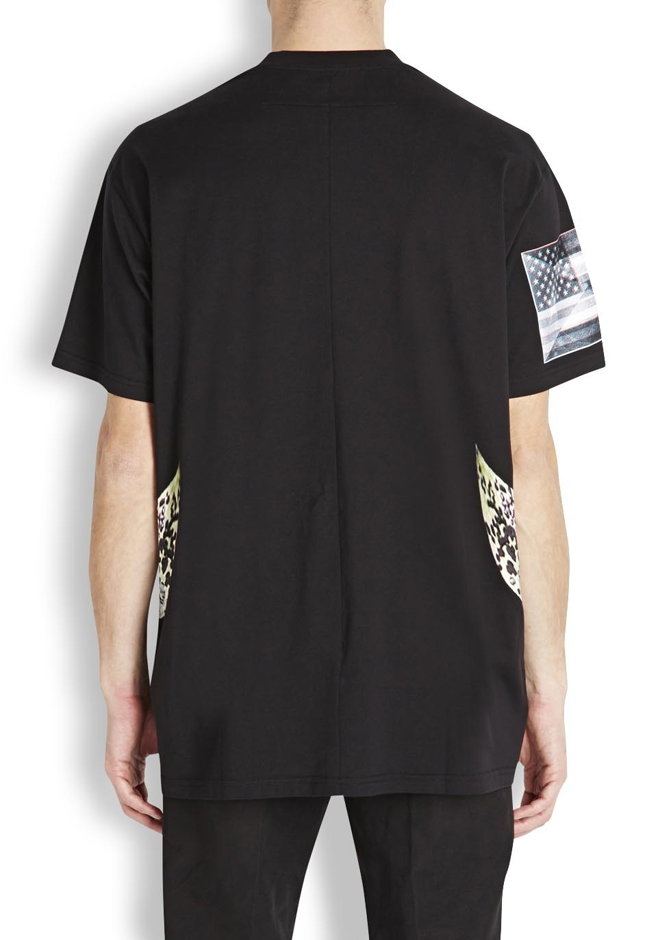 Givenchy Orchid Print T Shirt In Black For Men Lyst