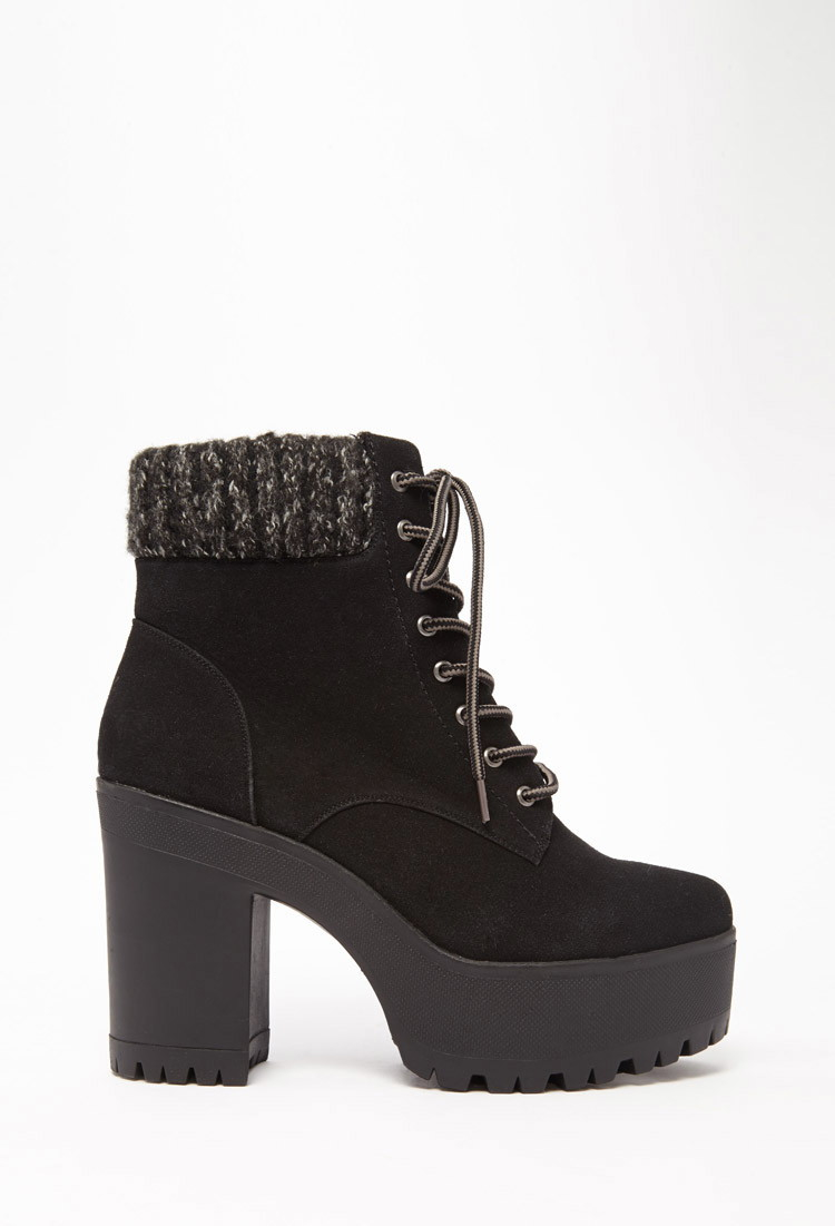 Find great deals on eBay for black lace up platform boots. Shop with confidence.