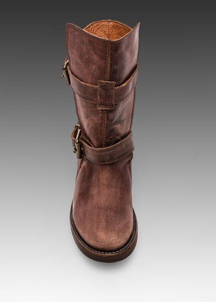 steve madden caveat boot in cognac in brown cognac lyst