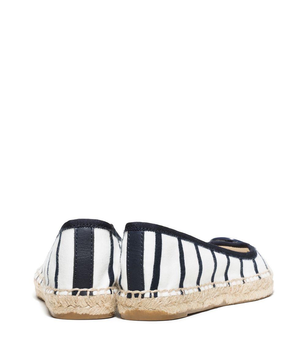 Ferregamo White And Black Ballet Shoe