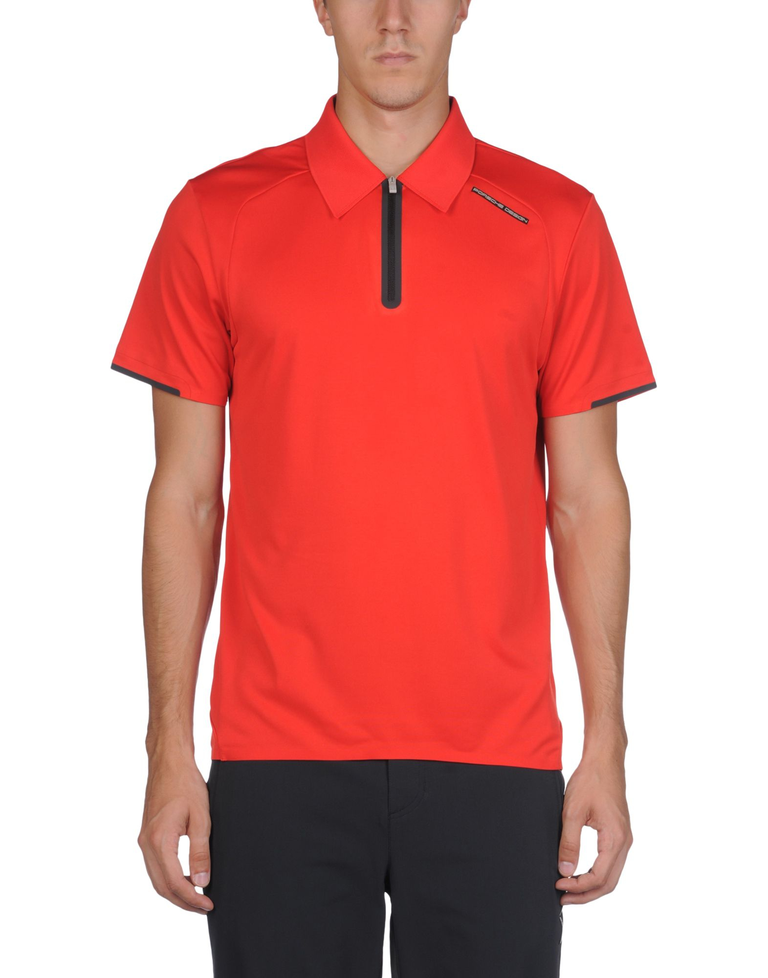 Lyst Porsche Design Polo Shirt In Red For Men