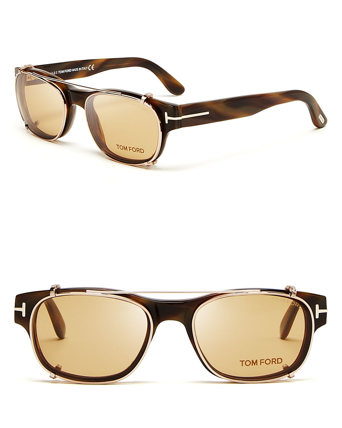 Lyst - Tom Ford Hollywood Collection Snowden Optical Frames with ...