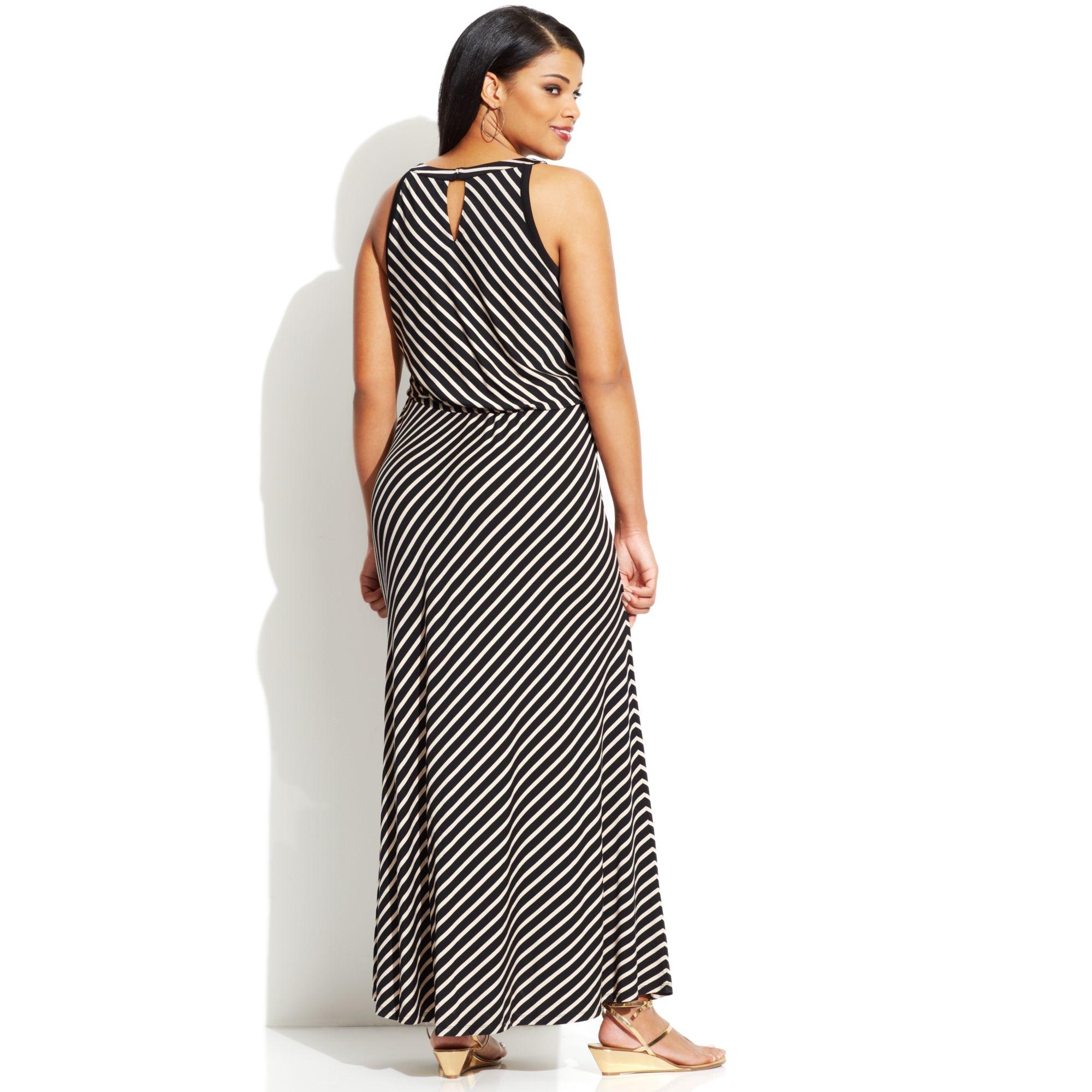Calvin klein plus size maxi dress