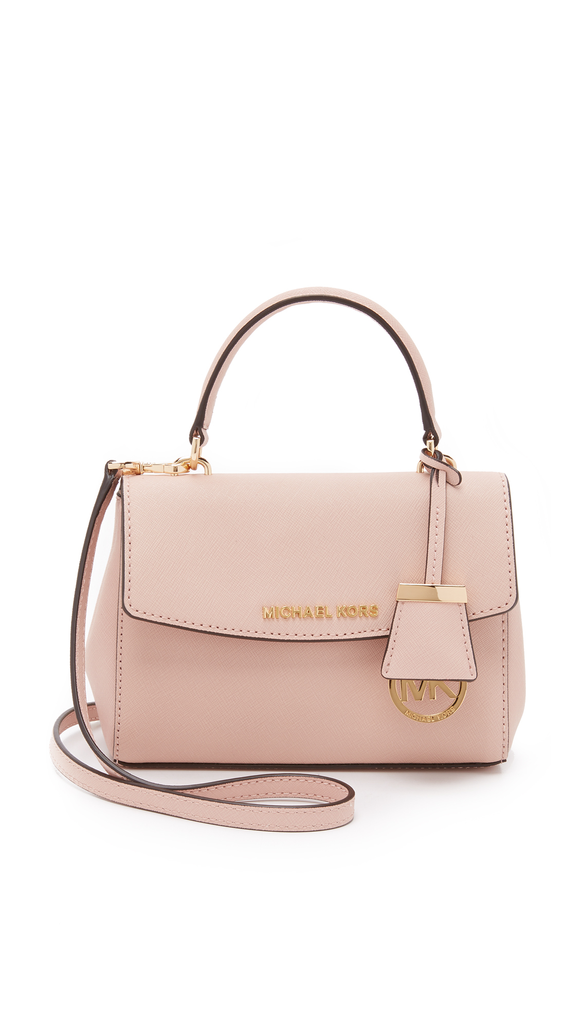 3c16964ad063 MICHAEL Michael Kors Ava Extra Small Cross Body Bag - Ballet in Pink ...