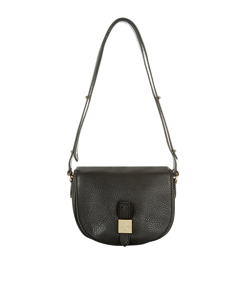 cfe4e40810 ... where can i buy mulberry small tessie satchel in black lyst a2ee9 0b006