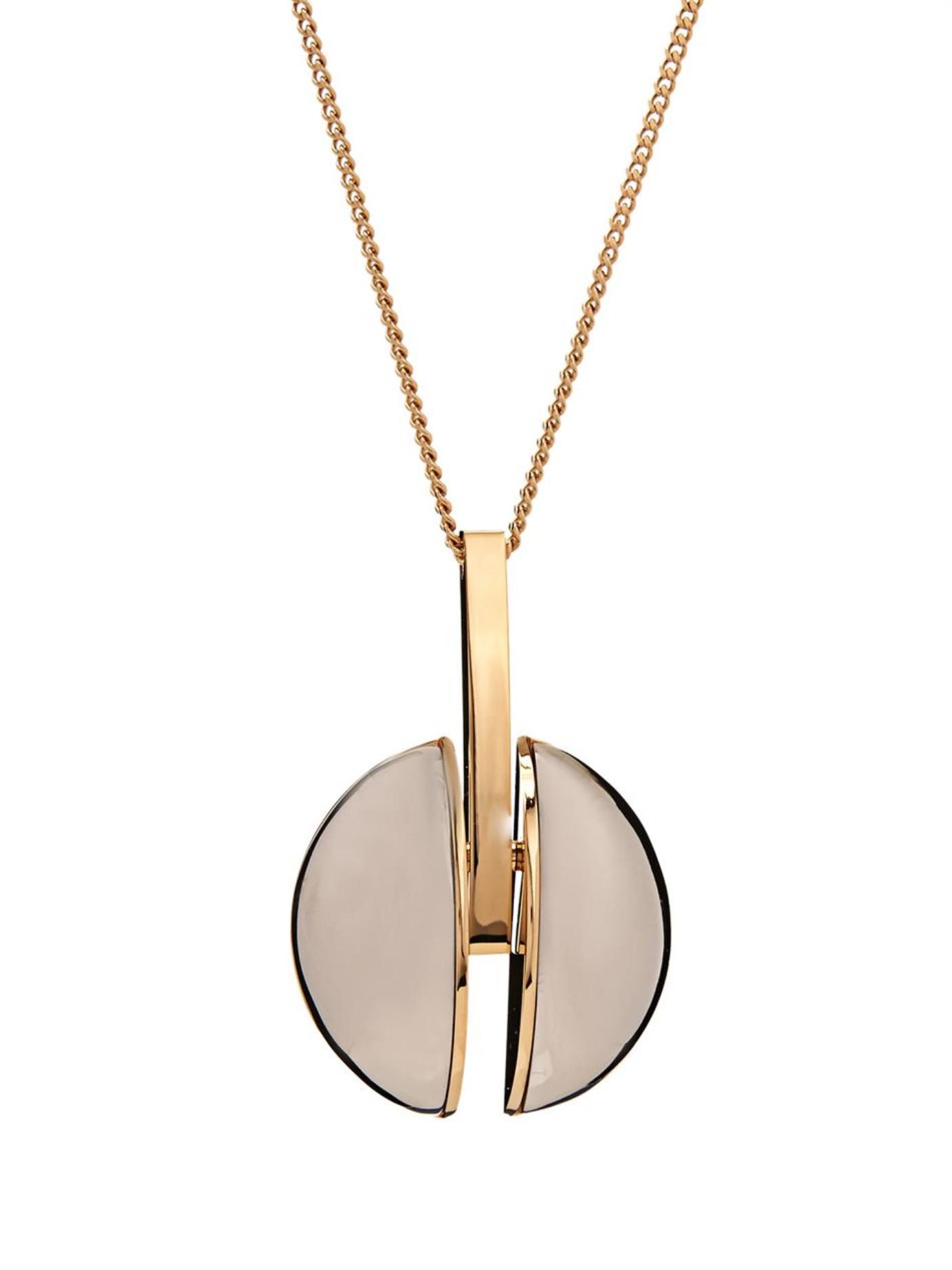 Lyst - Chloé Ellie Necklace in Metallic 892157a12