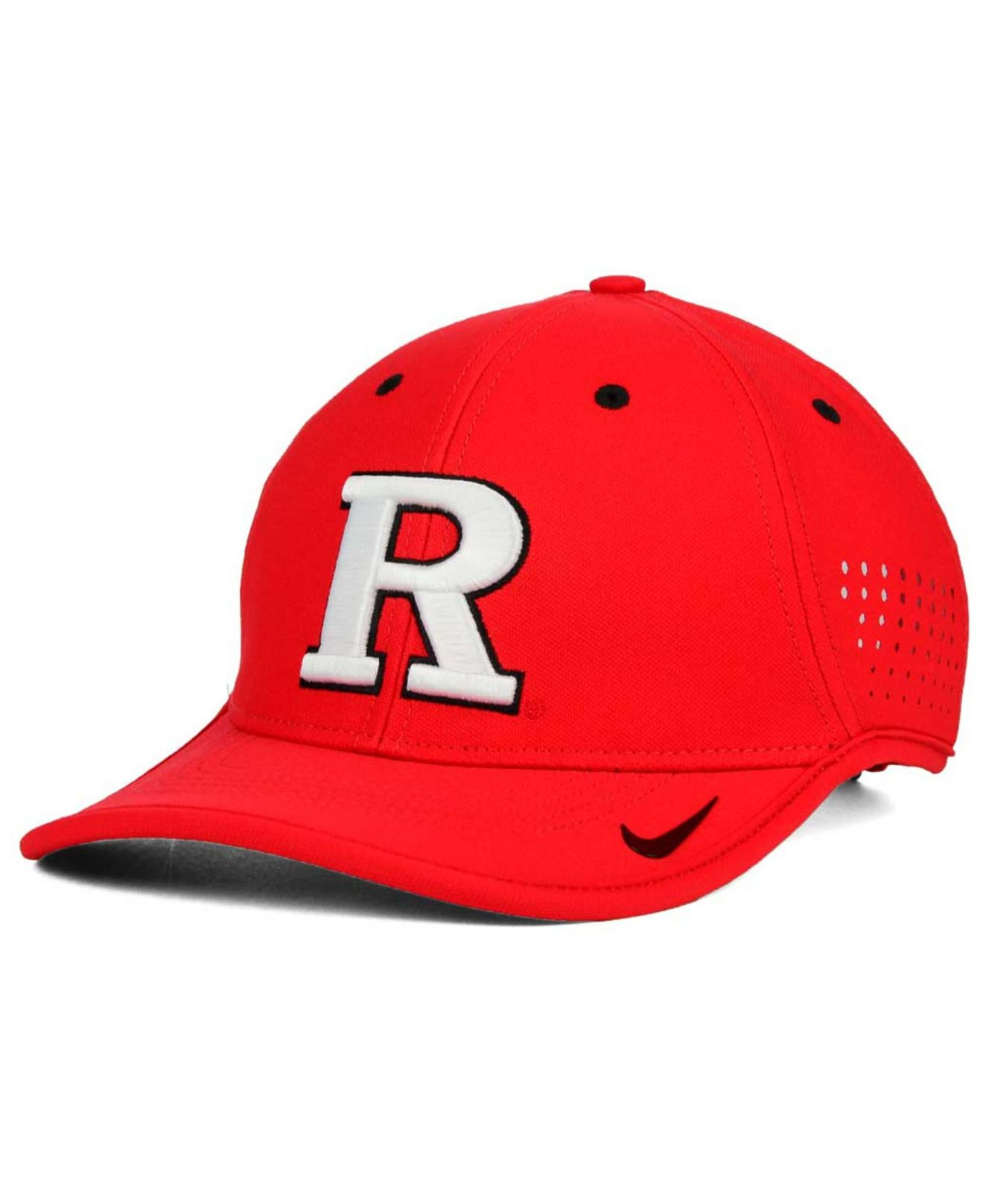 231bfed94ad ... discount lyst nike rutgers scarlet knights dri fit coaches cap in red  for men edd00 14777
