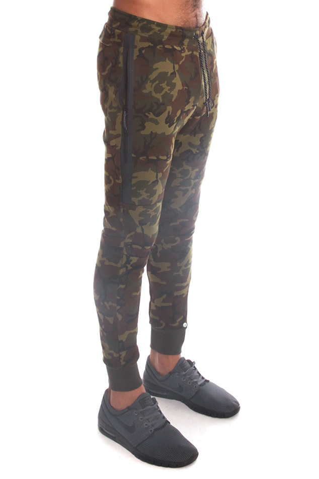 Nike Tech Fleece Pant in Green for Men   Lyst