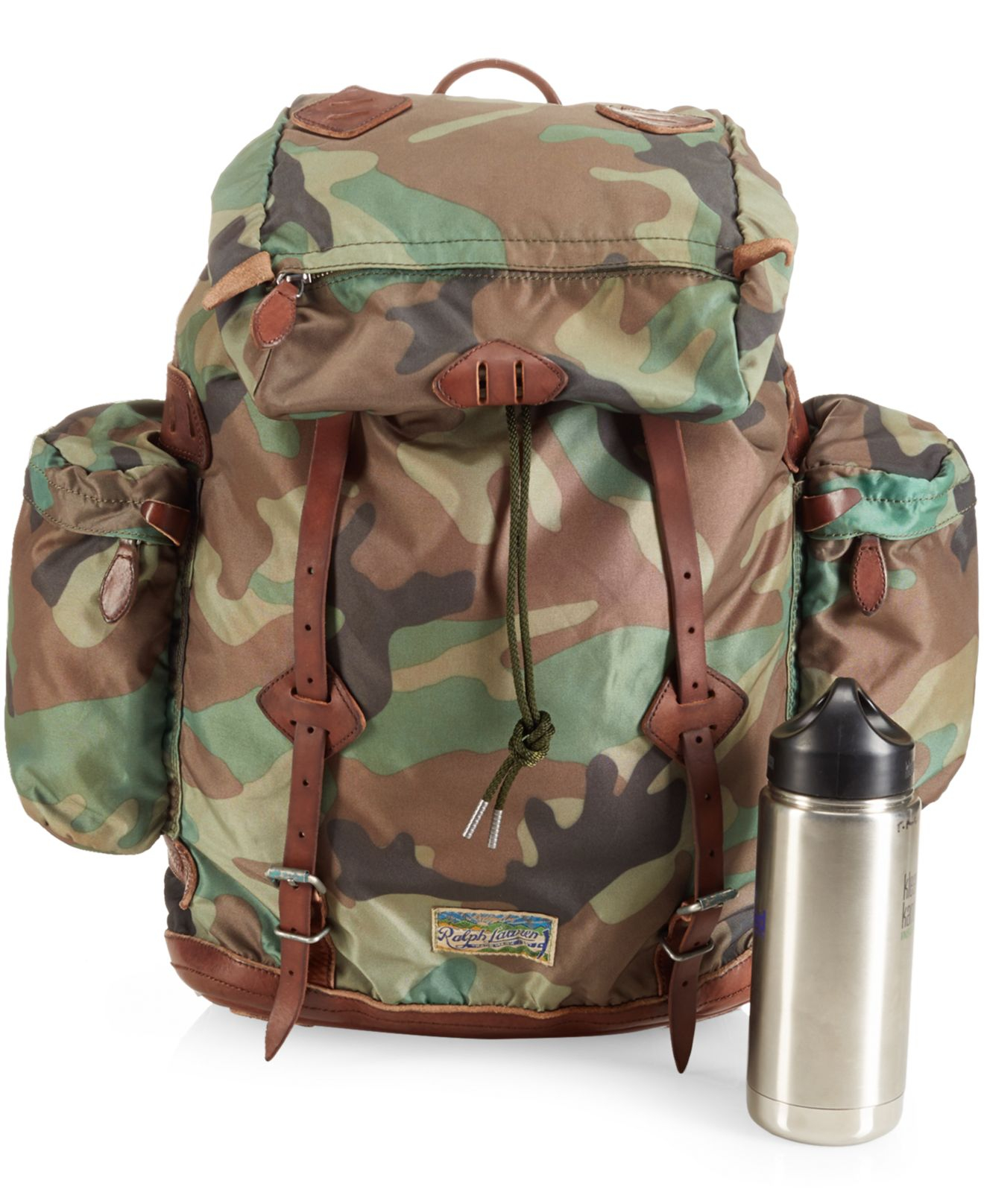 704a5df76993 Lyst - Polo Ralph Lauren Yosemite Nylon Camo Backpack in Green for Men