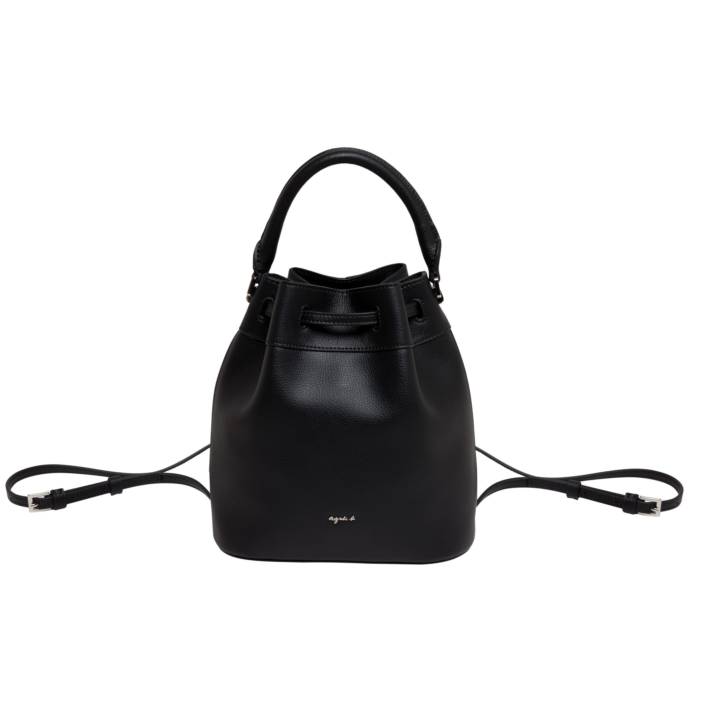 30e88e8a170 agnès b. Alice Black Bucket Bag in Blue - Lyst
