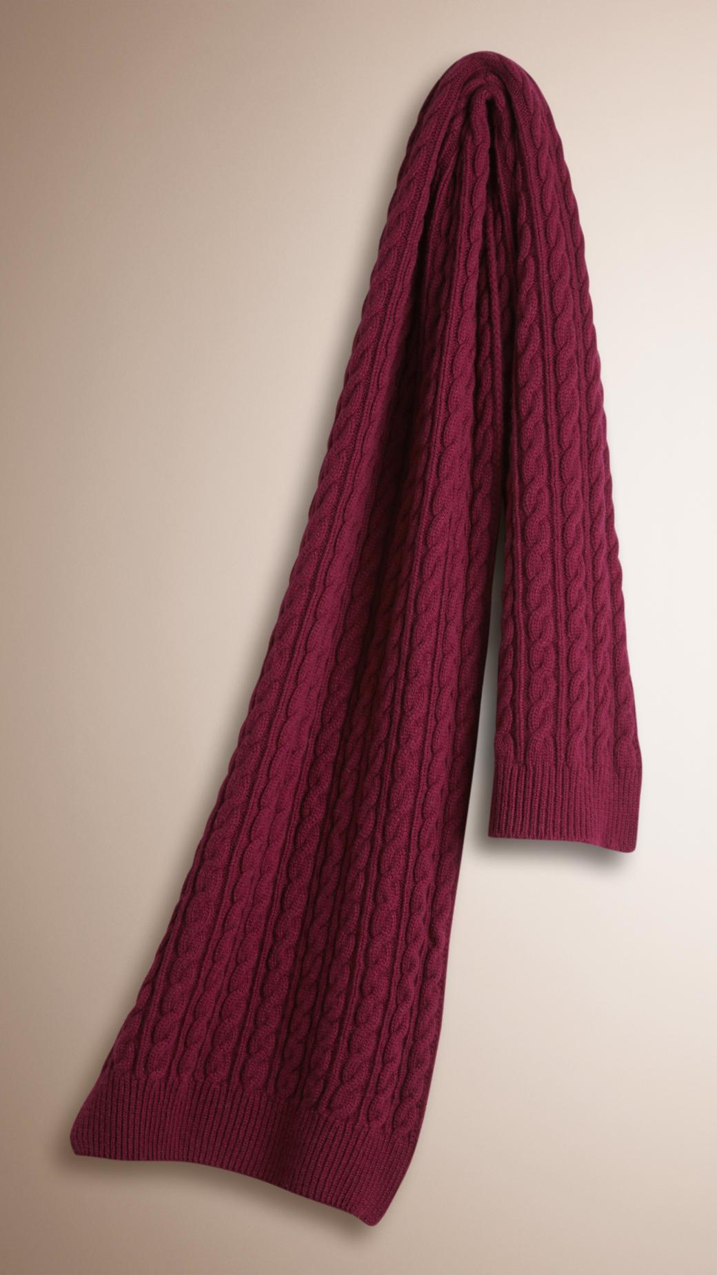 f7f4354fed4b france burberry scarf damson cashmere 44bae 08c63