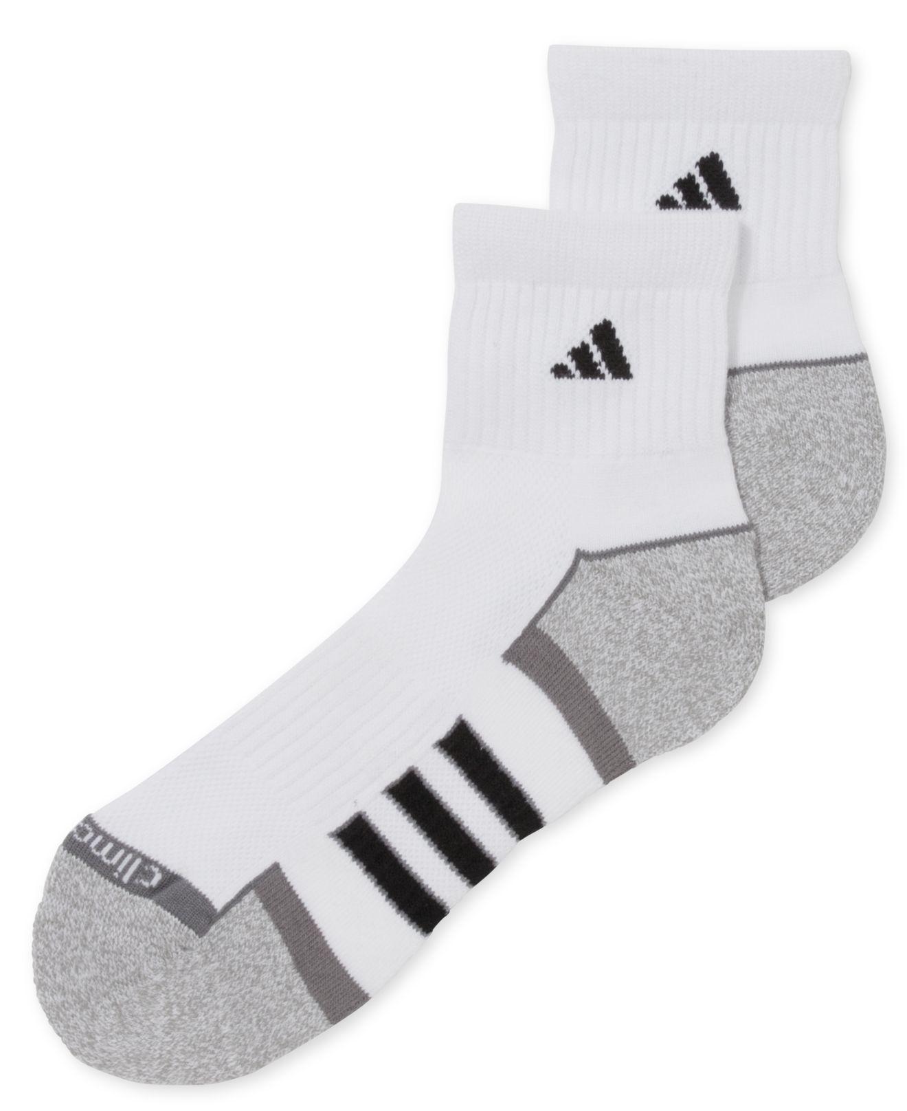 adidas climalite quarter socks mens