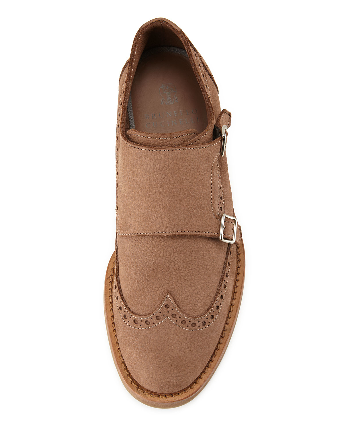Brogue Monk Shoes Womens