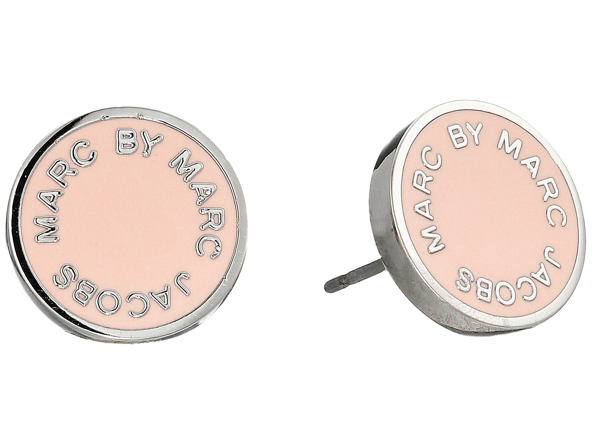 Marc By Jacobs Enamel Logo Disc Earrings Available At Source Gallery