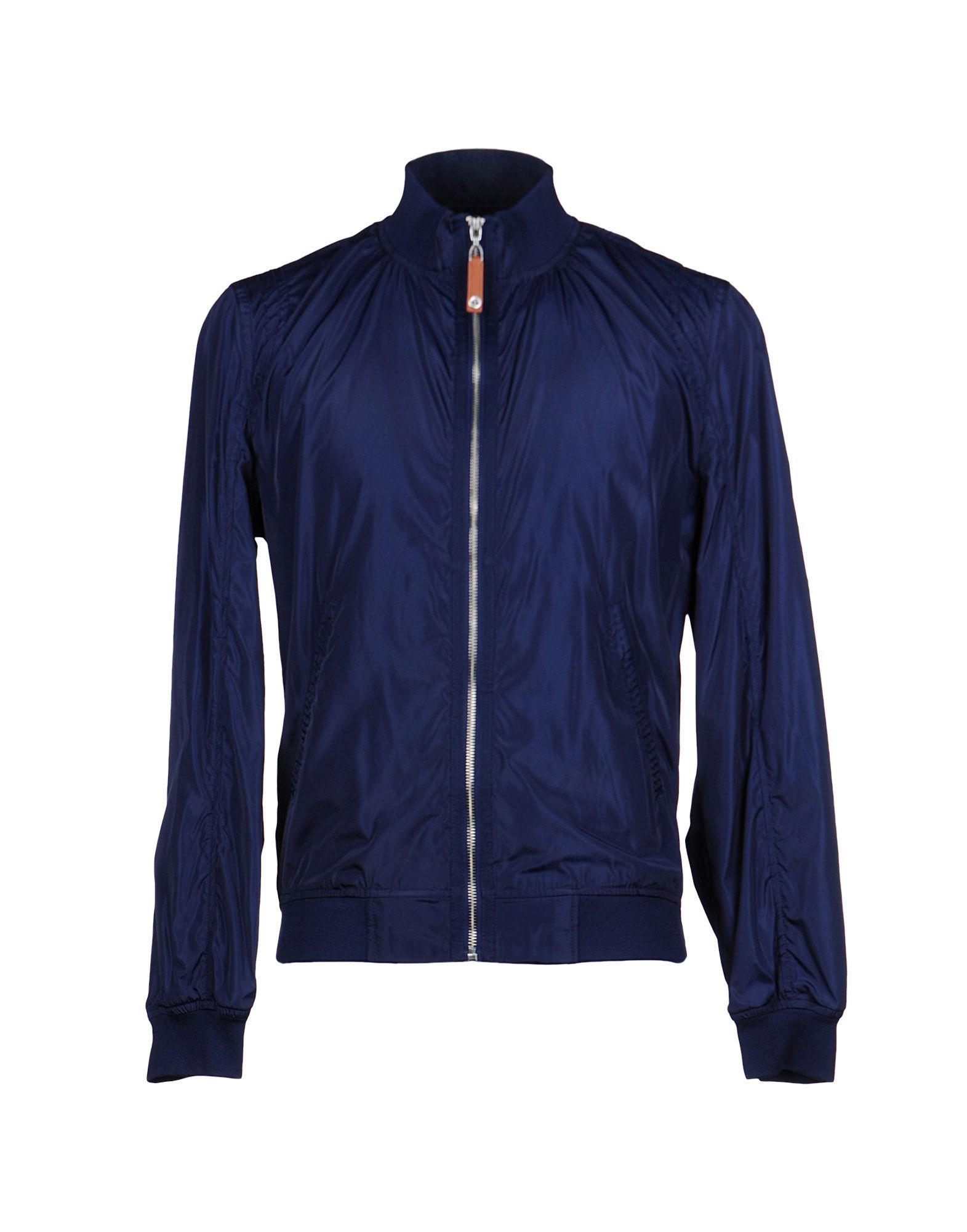 Class Roberto Cavalli Jacket in Blue for Men - Lyst c81cbe882