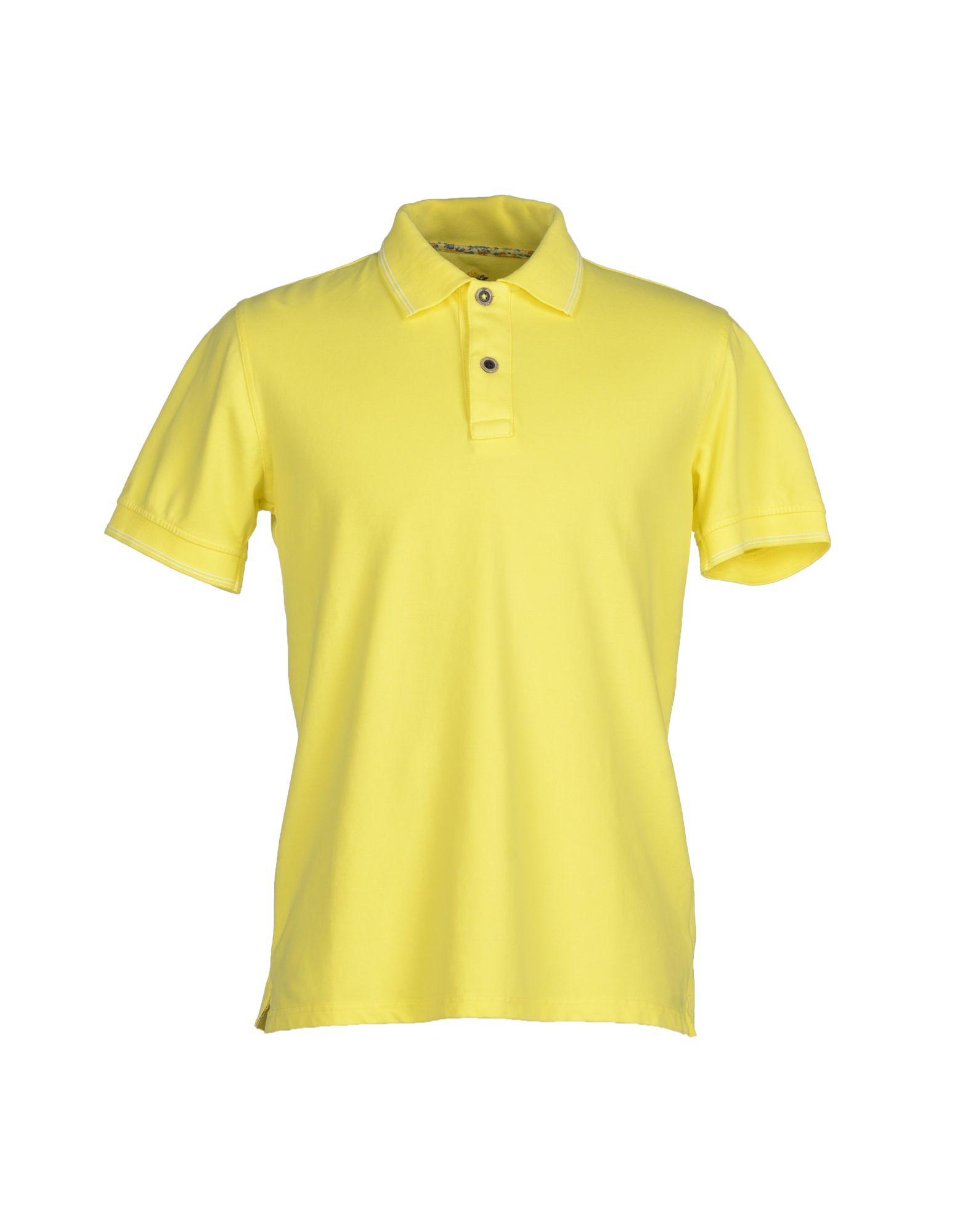 Domenico Tagliente Polo Shirt In Yellow For Men Lyst