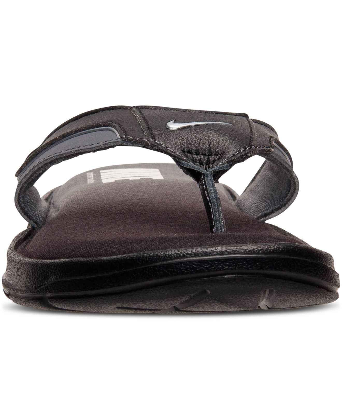 Lyst - Nike Men s Solarsoft Comfort Thong Sandals From Finish Line ... 8b1b9c402