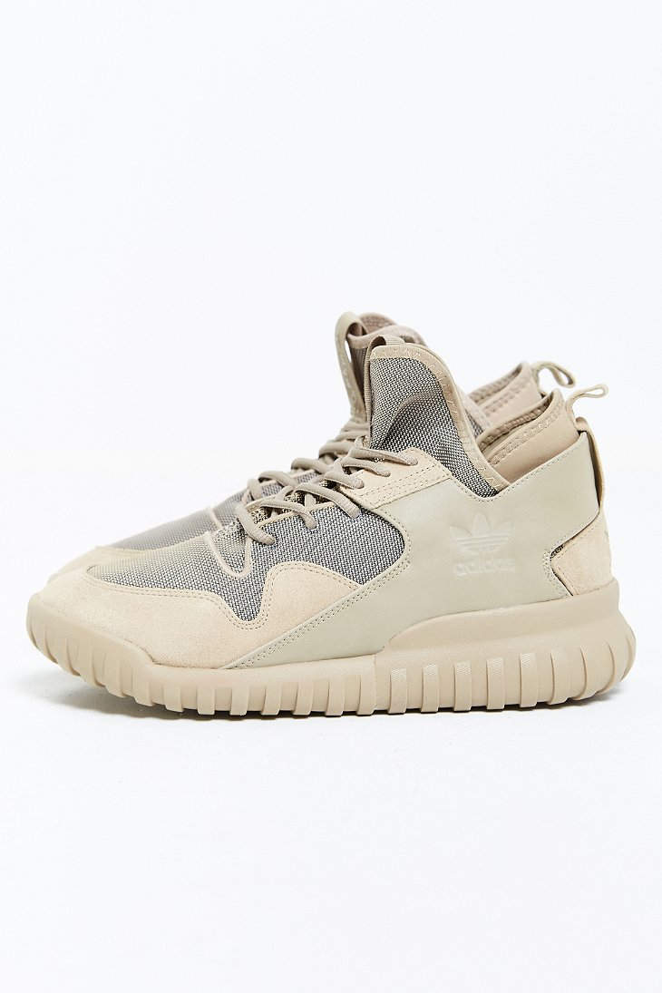 Adidas Tubular Womens Tan
