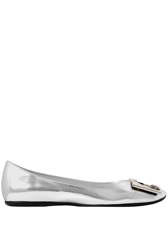 Gommette metallic leather ballerinas Roger Vivier 4VmMVzxEY