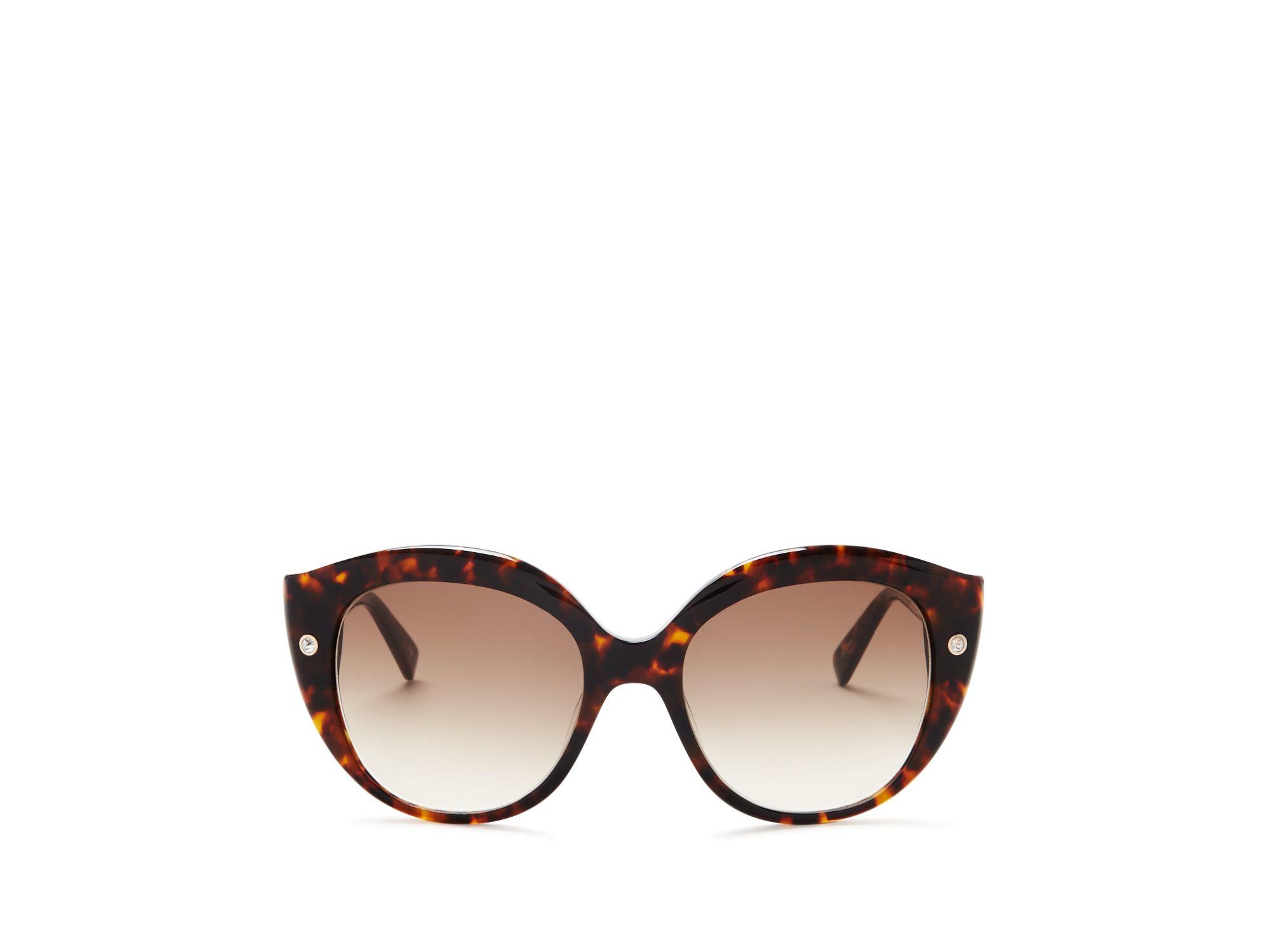 Kate Spade Promotional Code >> Kate spade Kaele Oversized Cat Eye Sunglasses, 55mm in Brown   Lyst