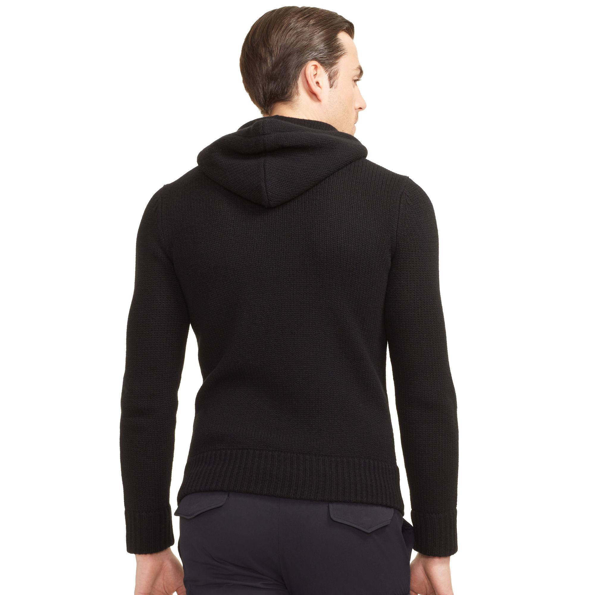 Ralph Lauren Black Label Slim-fit Cashmere Hoodie in Black for Men ... a7e68c9107f7