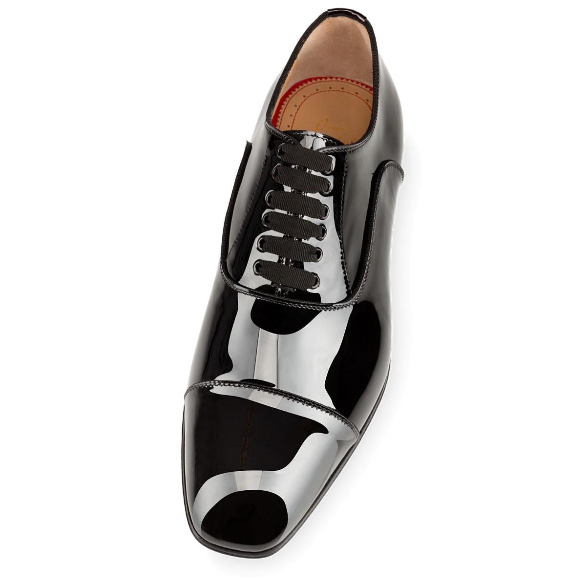 lowest price 8979d d98fa Christian Louboutin Greggo Patent in Black for Men - Lyst