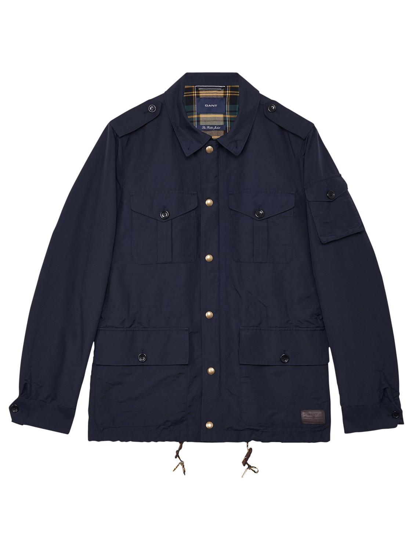 5fed95e75852 For Gant Men Jacket Lyst In Fielder Blue Z8n8rIa