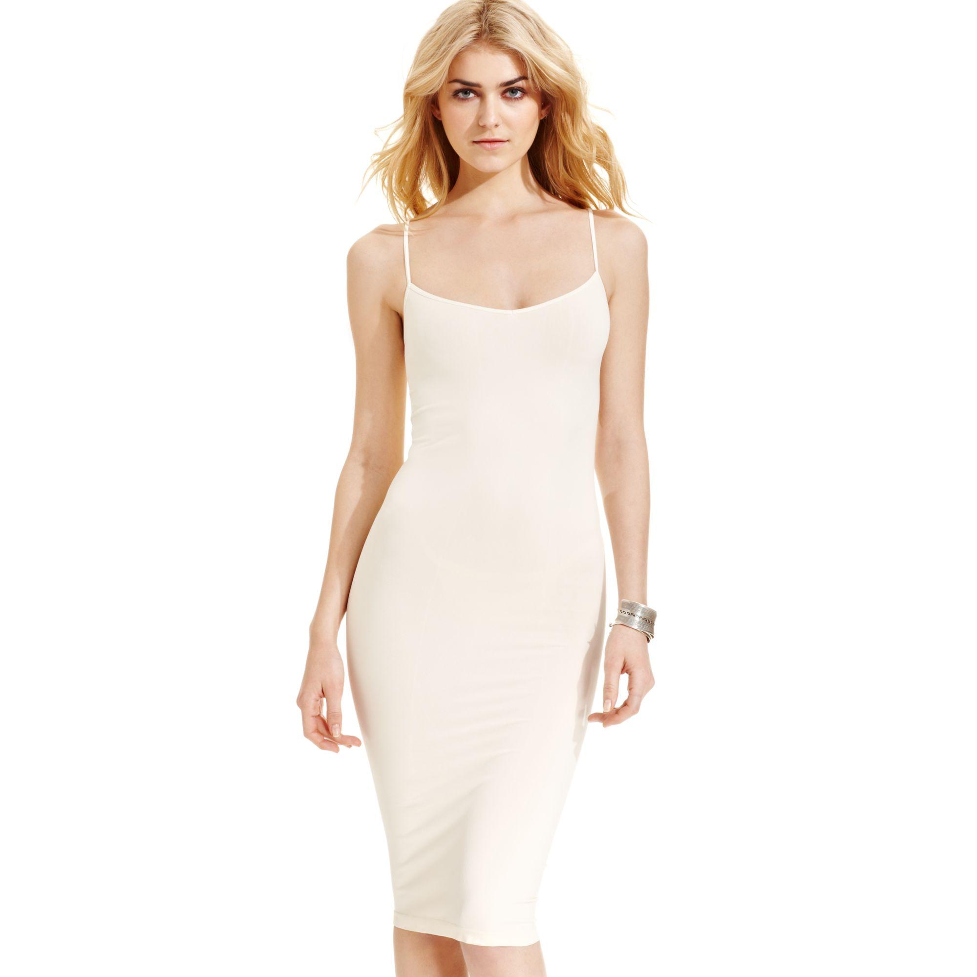 Free people Slip Dress in White  Lyst