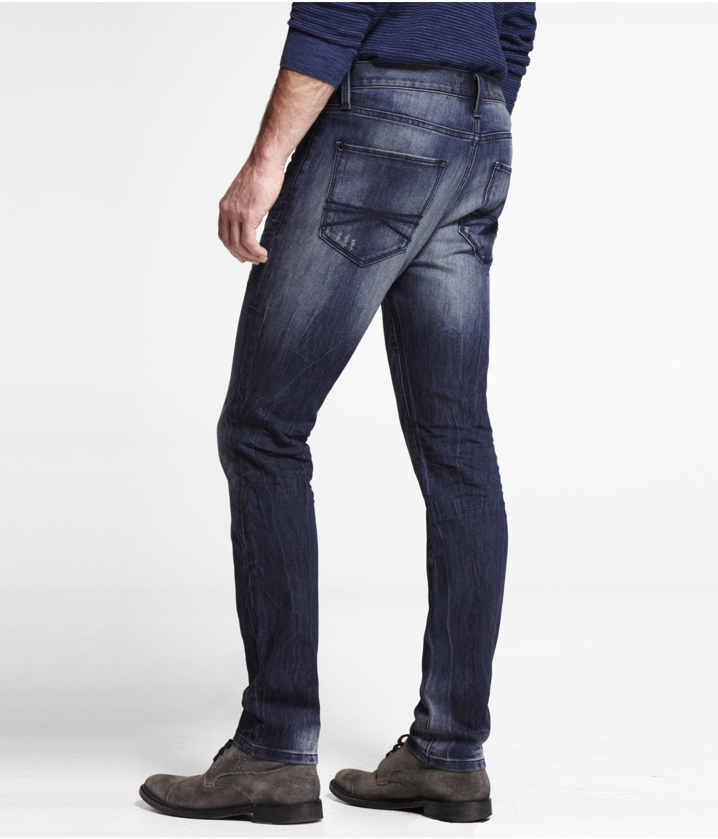 Express jeans alec super skinny fit