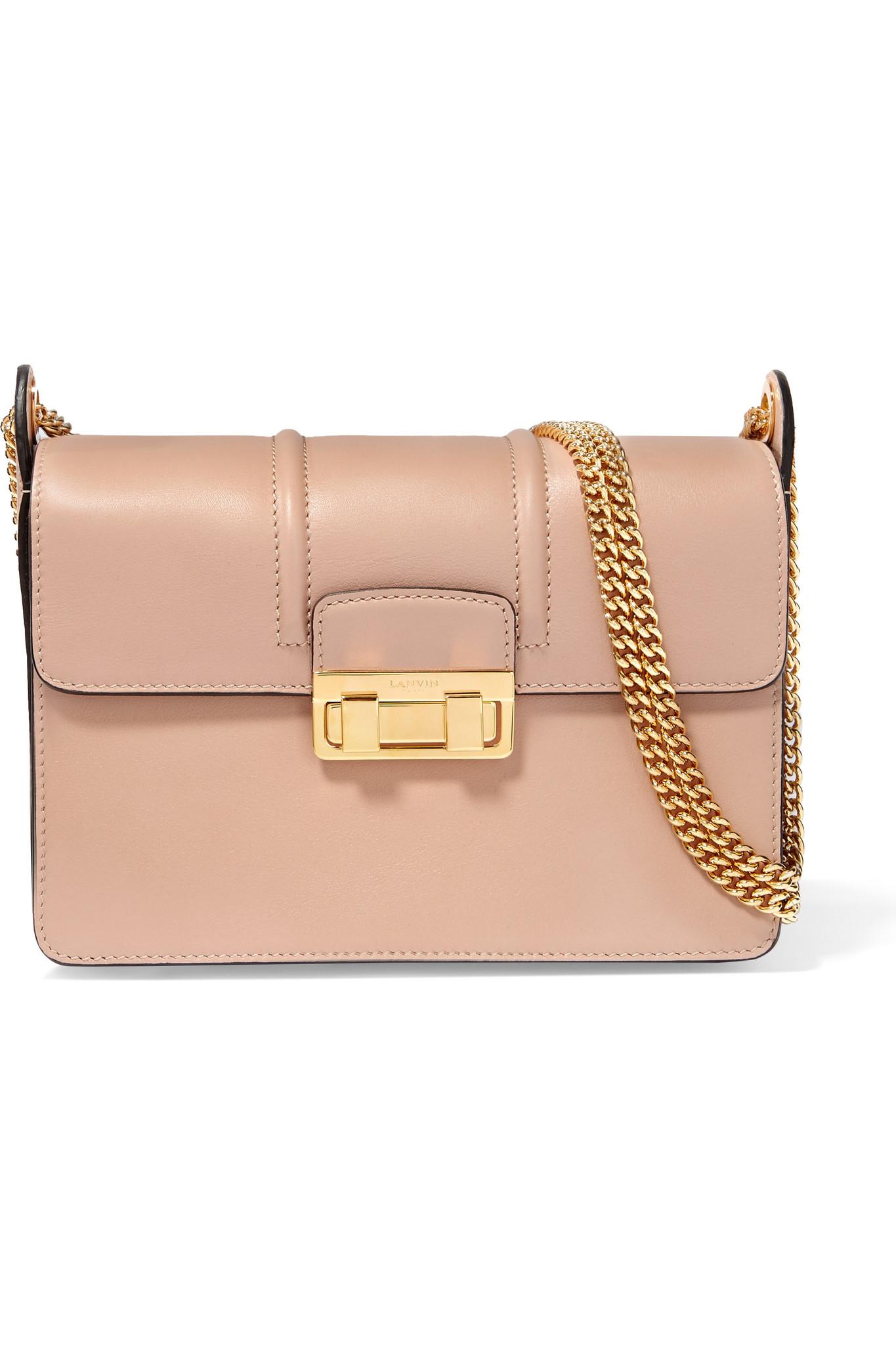 Lanvin Jiji Small Leather Shoulder Bag | Lyst