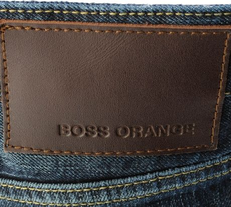 hugo boss orange 25 ocean jeans dark in blue for men lyst. Black Bedroom Furniture Sets. Home Design Ideas