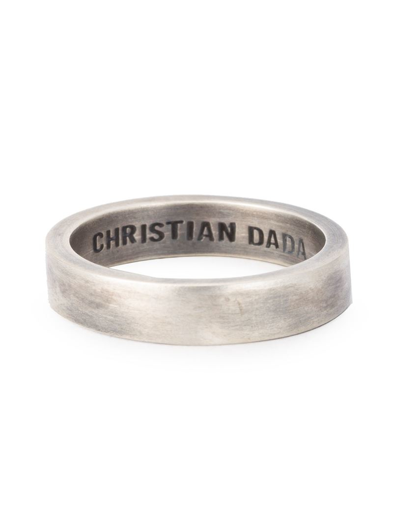 Christian Dada rope ring - Metallic ui1pjXQk1E