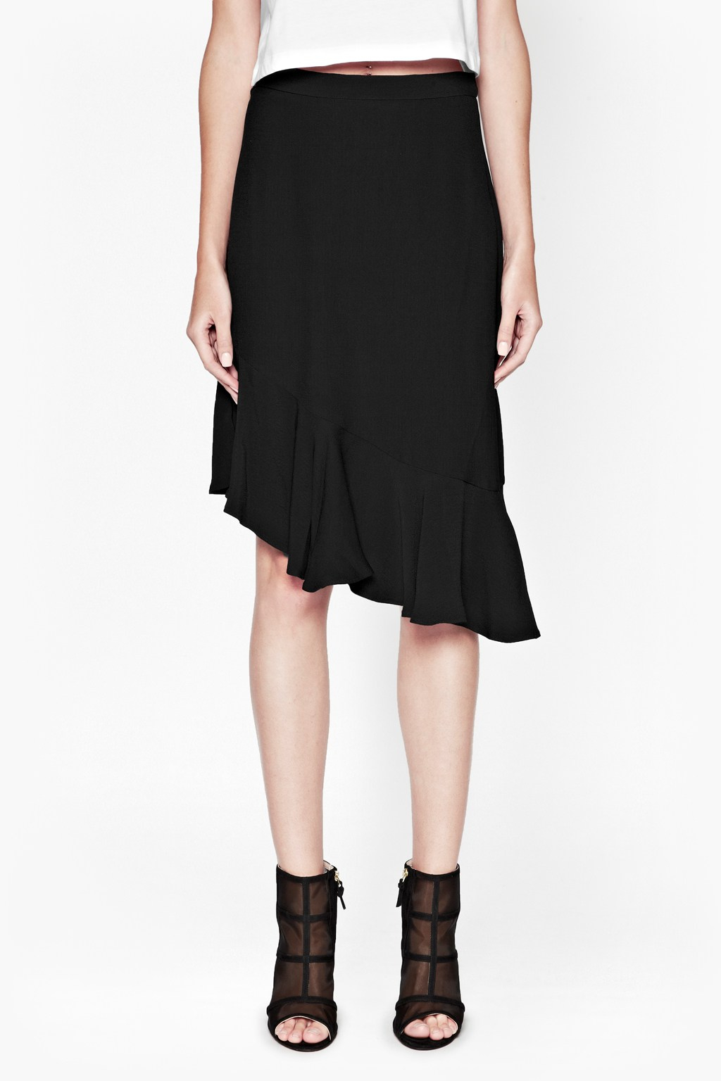 Shop crepe skirt at Neiman Marcus, where you will find free shipping on the latest in fashion from top designers.