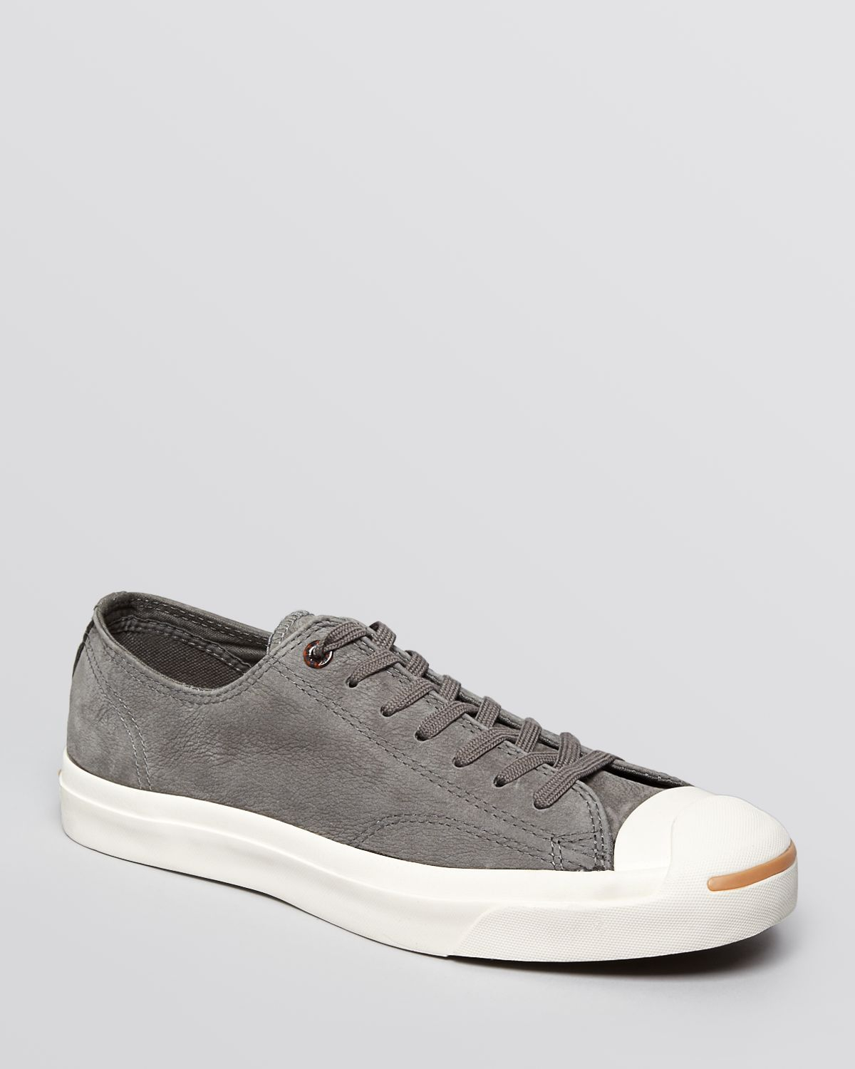 55d1f97ef4ea Lyst - Converse Jack Purcell Suede Sneakers in Gray for Men