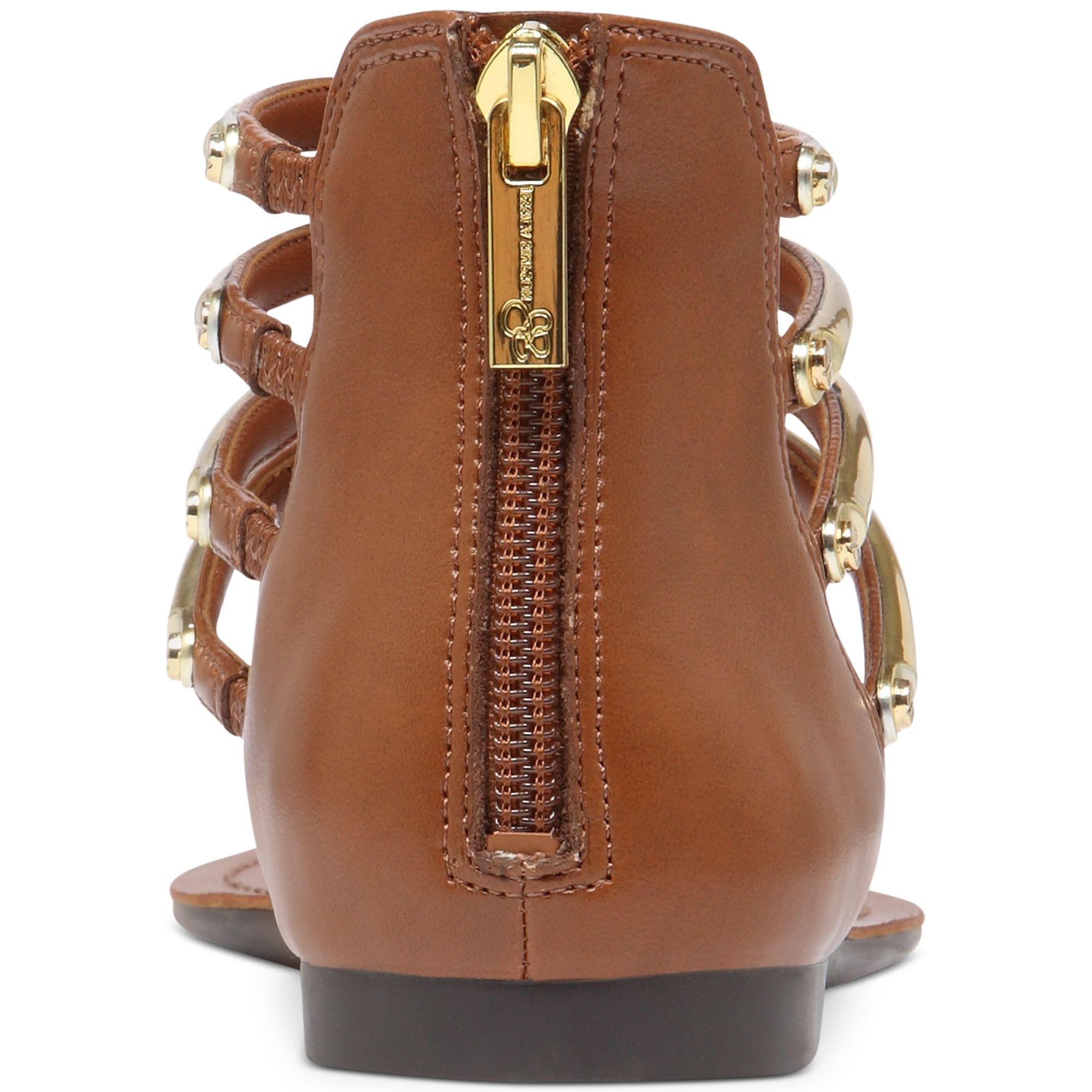 57d5fdf79119 Lyst - Jessica Simpson Gionara Flat Thong Sandals in Metallic