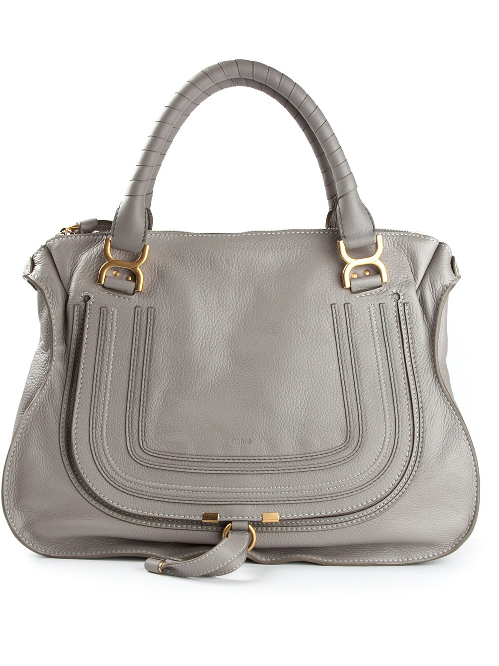chloe look alike handbags - Chlo�� Large \u0026#39;marcie\u0026#39; Tote in Gray (grey) | Lyst
