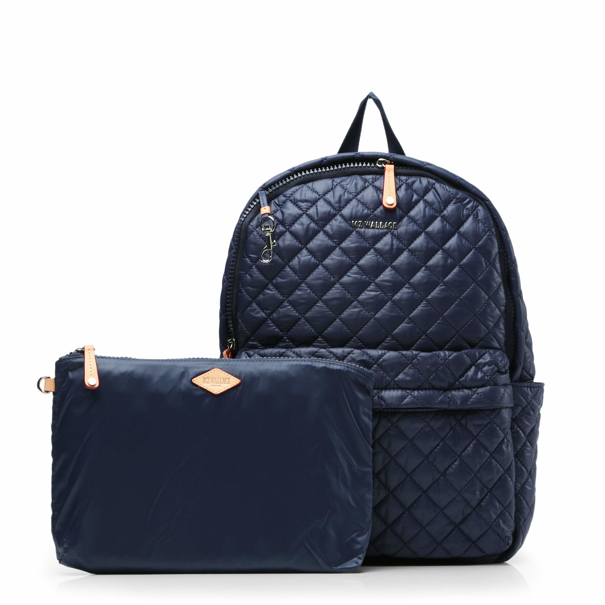 Mz Wallace Dawn Oxford Metro Backpack In Blue Lyst