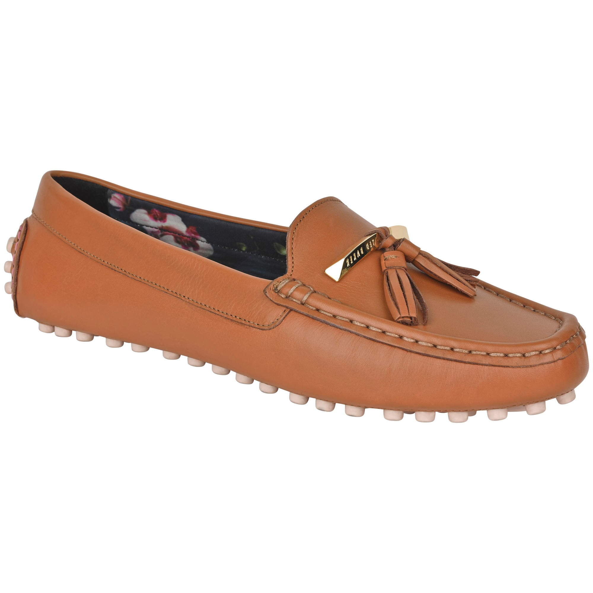 6954f7892bf Ted Baker Harlii Tassel Loafers in Brown - Lyst